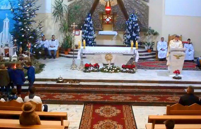 Msza święta w Skołyszynie
