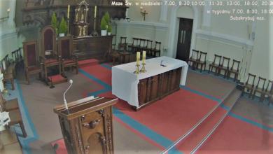 Kościół Jezuitów w Łodzi - transmisja Mszy, Msze na żywo