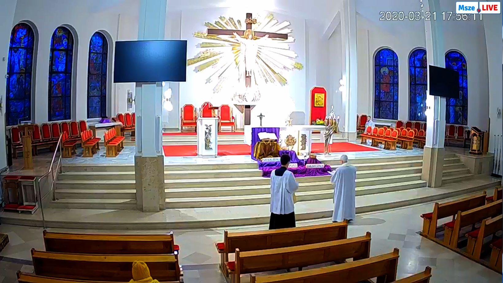 Parafia Chrystusa Króla w Radomiu - msza na żywo