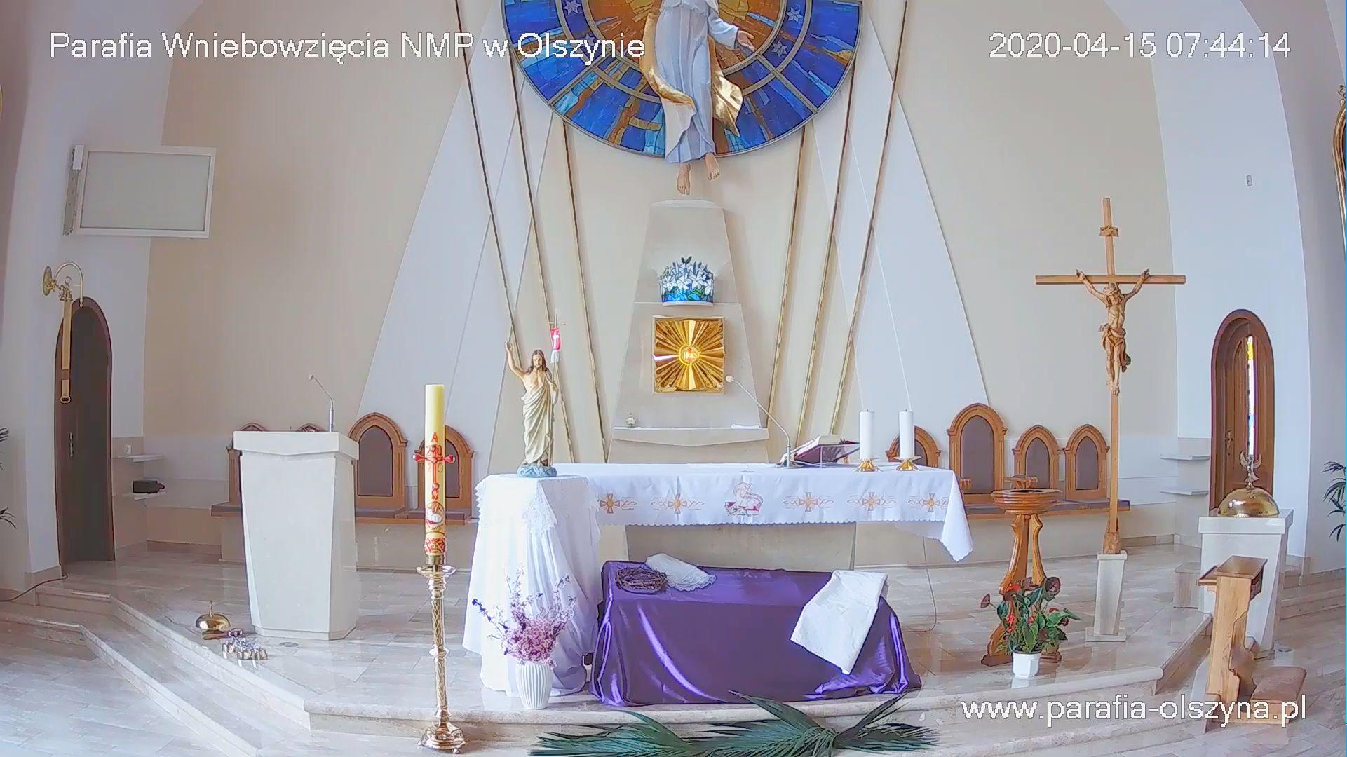 Msza na żywo Olszyna