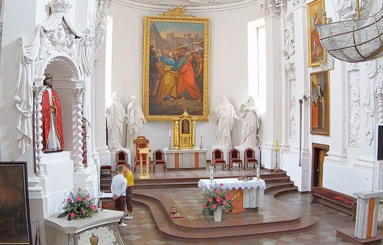 Wilno Litwa - msza na żywo