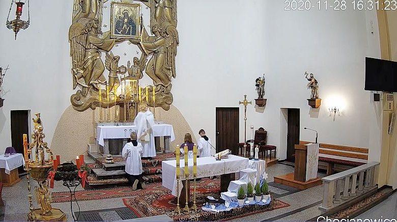 Msza na zywo Chocianowice